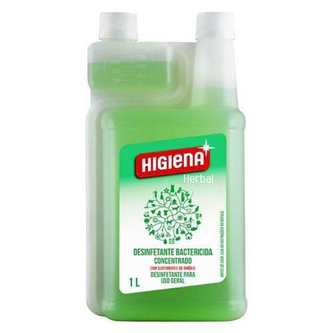 Desinfetante Bactericida Higiena Herbal - 1 Litro