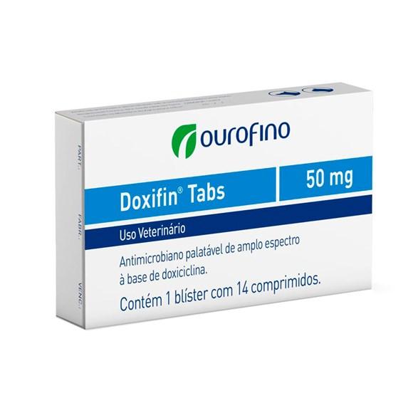Doxifin Tabs Ourofino 50Mg C/ 14 Comprimidos