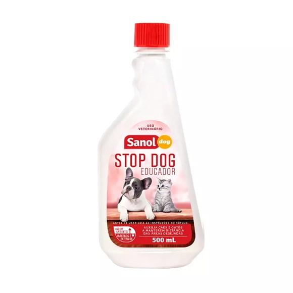 Educador Stop Dog Sanol Para Cães e Gatos - 500 mL