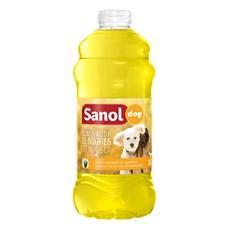Eliminador de Odores Sanol Dog Cintronela - 2 Litros