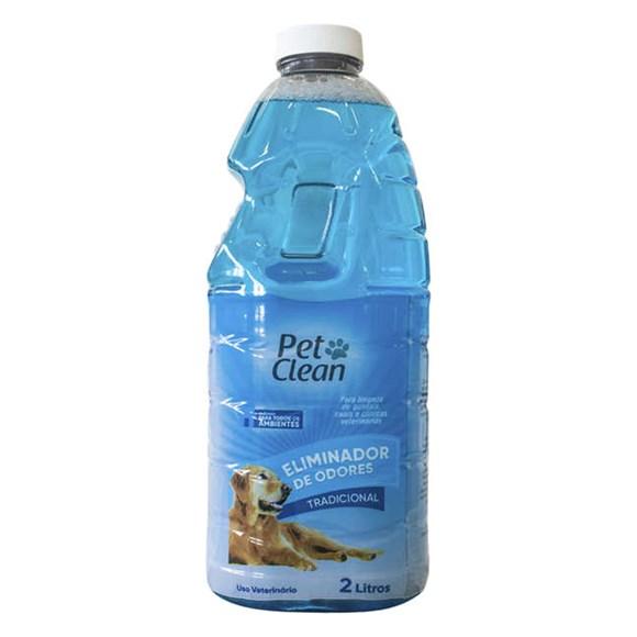 Eliminador de Odores Tradicional Pet Clean – 2 Litros
