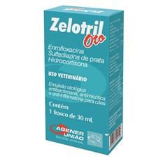 Emulsão Otológica Para Cães Zelotril Oto Agener União 30ml