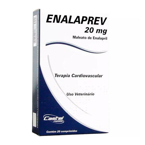 Enalaprev 20mg C/ 20 comprimidos