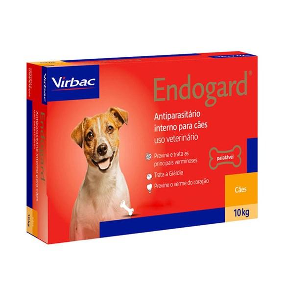 Endogard Vermifugo Caes Ate 10kg C/2 Comprimidos - Virbac