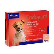 Endogard Vermífugo Cães Até 10kg C/6 Comprimidos - Virbac