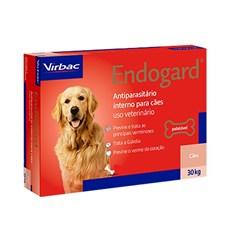 Endogard Vermifugo Caes Ate 30kg  C/ 2 Comprimidos - Virbac