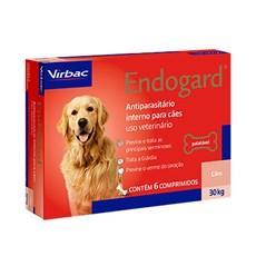 Endogard Vermífugo Cães Até 30kg C/6 Comprimidos - Virbac