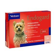 Endogard Vermífugo Para Cães 2,5kg C/ 2 Comprimidos - Virbac