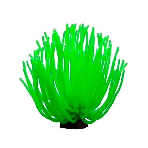 Enfeite Aquário Anêmona YS-1105XLG Verde Maxxi 14cm