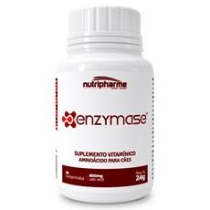 Enzymase Suplemento Vitamínico Aminoácido Para Cães 30 Comp.