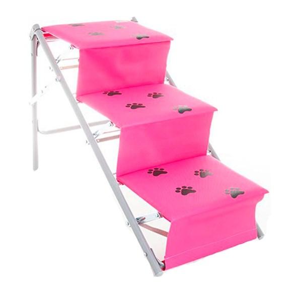 Escada Rampa Pet One Rosa - Tubline