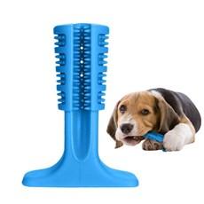 Escova De Dente Para Cães Azul Grande Petlon