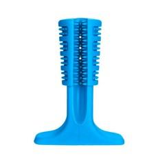 Escova De Dente Para Caes Azul Medio Petlon