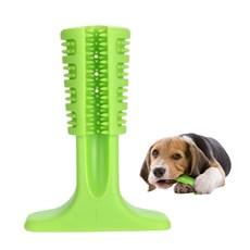 Escova De Dente Para Cães Verde Grande Petlon