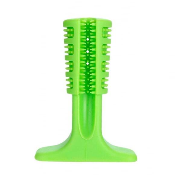 Escova De Dente Para Caes Verde Medio Petlon