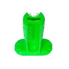 Escova Dental Verde Para Cães Médio - Truqys Pets