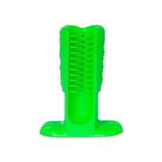 Escova Dental Verde Para Cães Pequeno - Truqys Pets