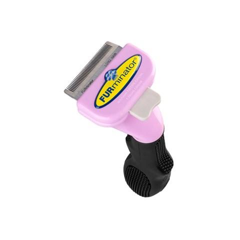 Escova Furminator para GATO Pequeno Porte Pelo Longo