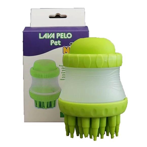 Escova Lava Pelos Verde Napi
