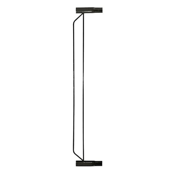 Extensor de Grade Para Porta Plus Preto 10cm – Tubline