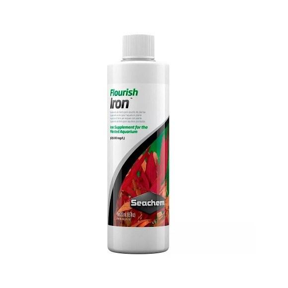 Fertilizante Flourish Iron Seachem Para Aquarios - 250ml