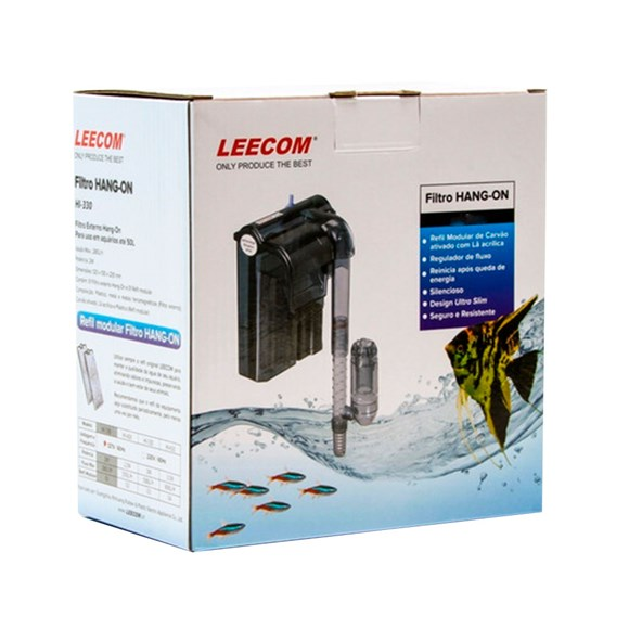Filtro Externo Hang-On Leecom Hi-330 280L/h 2w - 220v