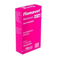 Flamavet 0,2mg Gatos Agener União C/10 Comprimidos