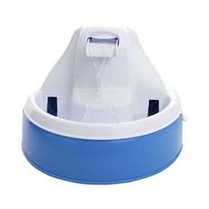 Fonte Bebedouro Amicus Aqua Flow Azul E Branco Bivolt