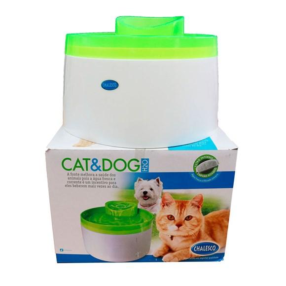 Fonte Cat & Dog Verde -  Chalesco