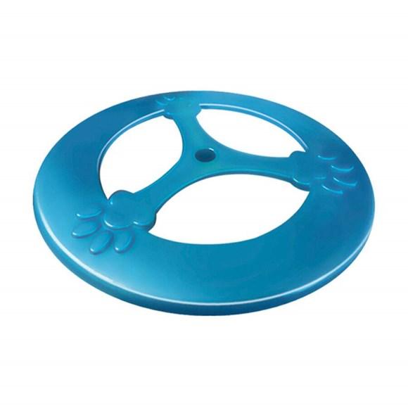 Frisbee Cães Furacão Pet Plástico Pop Azul