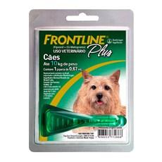 Frontline Plus Antipulgas E Carrapatos Cães até 10kg