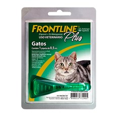 Frontline Plus Antipulgas E Carrapatos Gatos 0,5mL
