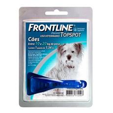 Frontline TopSpot Antipulgas E Carrapatos Cães 10 a 20Kg