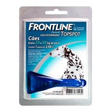 Frontline TopSpot Antipulgas E Carrapatos Cães 20 a 40Kg