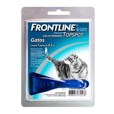 Frontline TopSpot Antipulgas E Carrapatos Gatos 0,5mL