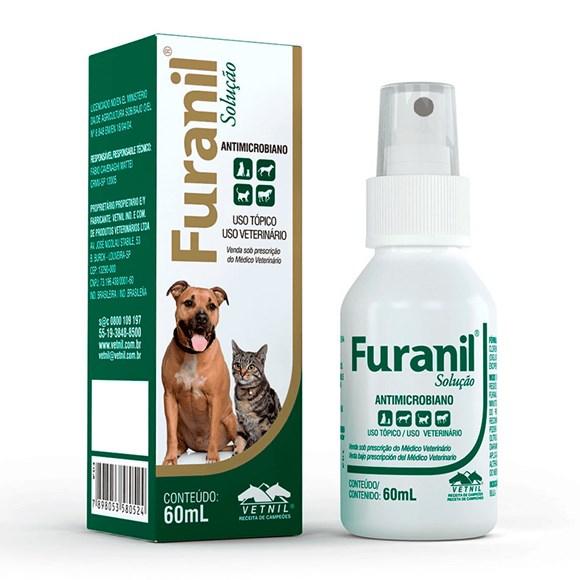 Furanil Spray Antimicrobiano Vetnil  60mL