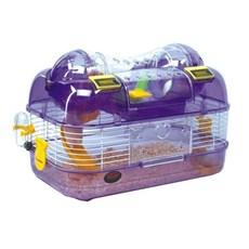 Gaiola Habitat Espacial Elegance Para Hamster Chalesco