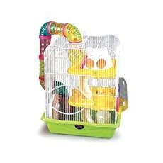 Gaiola Hamster American Pets Labirinto Safari – Tam. M