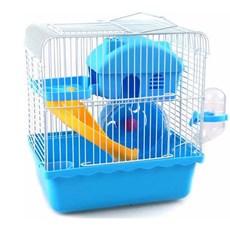 Gaiola Para Hamster Playground Luxo Mix Colors Azul - The Pets Brasil
