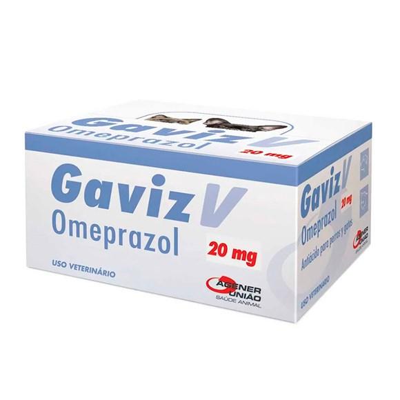 Gaviz V 20mg Omeprazol Agener União Blister C/10 Comprimidos