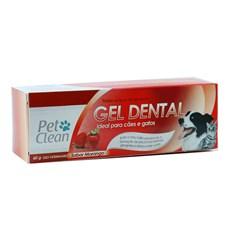 Gel Dental Morango Pet Clean - 60g