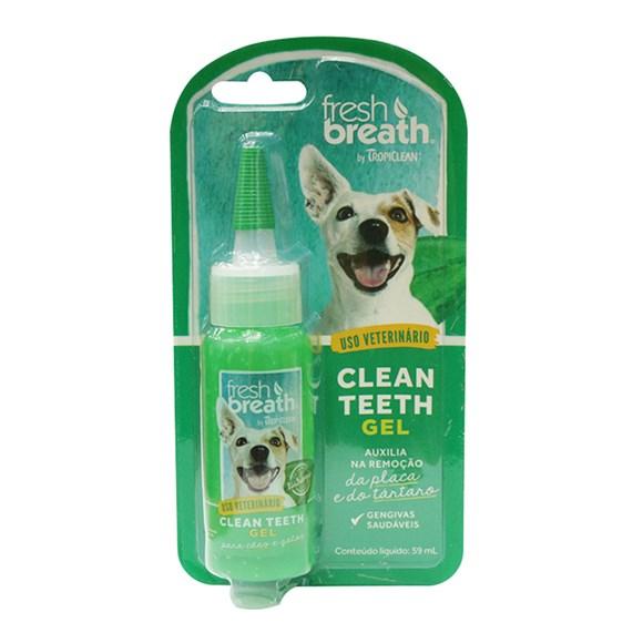 Gel Dental Tropiclean Clean Teeth Menta - 59mL