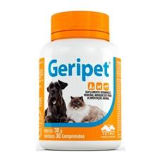 Geripet Suplemento Caes e Gatos Vetnil C/30 Comprimidos
