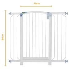 Grade para Porta de Segurança para Pet Soft + 1 Extensor de 10cm/20cm - 1120