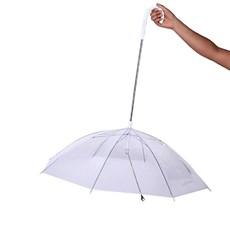 Guarda-chuva para Cachorro Transparente - The Pets Brasil