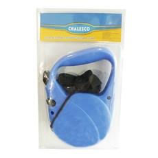 Guia Retrátil Azul Chalesco Para Cães até 15kg