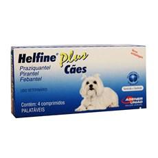 Helfine Plus Cães Agener União C/4 Comprimidos