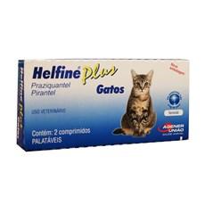 Helfine Plus Gatos Agener União C/2 Comprimidos