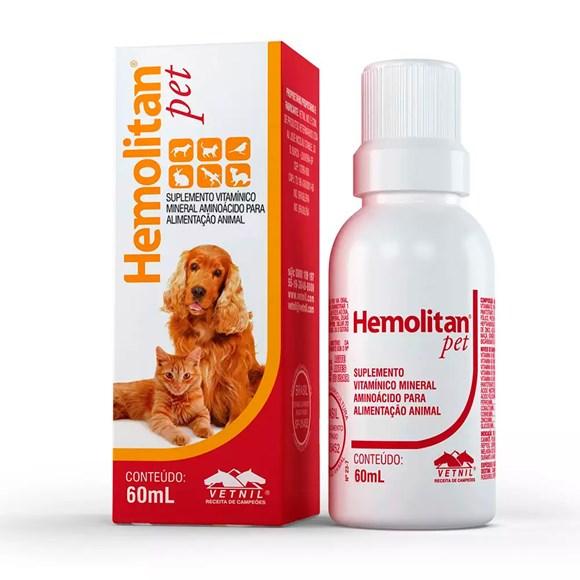 Hemolitan Pet Suplemento Vetnil – 60mL