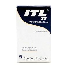 ITL Antifúngico 25mg C/ 10 Comprimidos